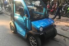 Ôtô điện hai chỗ ngồi, giá gần 50 triệu đồng ở Hà Nội