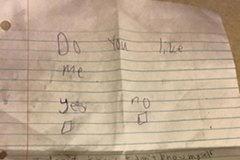 Lời từ chối tình yêu gây sốt của cậu bé 11 tuổi