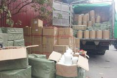 Giật mình hàng tấn mỹ phẩm không nguồn gốc 'tràn' vào HN