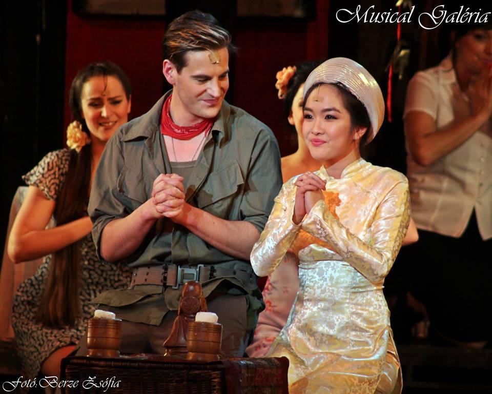 Nguyễn Thanh Hiền, Hungary, Miss Saigon, nhạc kịch