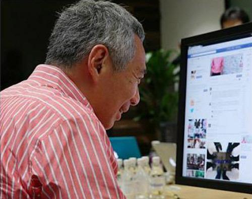 Singapore, Thủ tướng, Lý Hiển Long, Facebook
