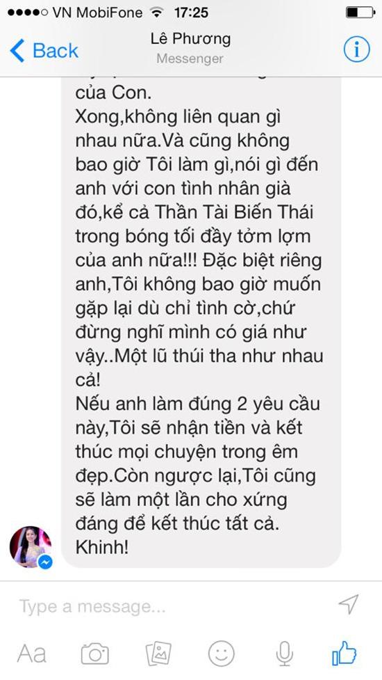 Quách Ngọc Ngoan, tố, Lê Phương, ly hôn, kiện