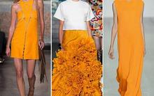 Những màu sắc sẽ thống trị thời trang xuân 2015