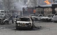 Đông nam Ukraina lại bùng nổ pháo kích dữ dội
