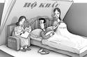 Thắc mắc cắt khẩu về nhà bố mẹ đẻ sau ly hôn