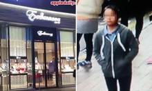 Cô bé 12 tuổi trộm dây chuyền 4,6 triệu USD