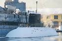 Tàu ngầm Hải Phòng rời Singapore về VN