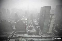 Bão tuyết kinh hoàng tấn công Mỹ