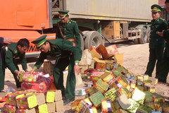 Quảng Bình: Bắt vụ vận chuyển pháo lậu lớn nhất tỉnh