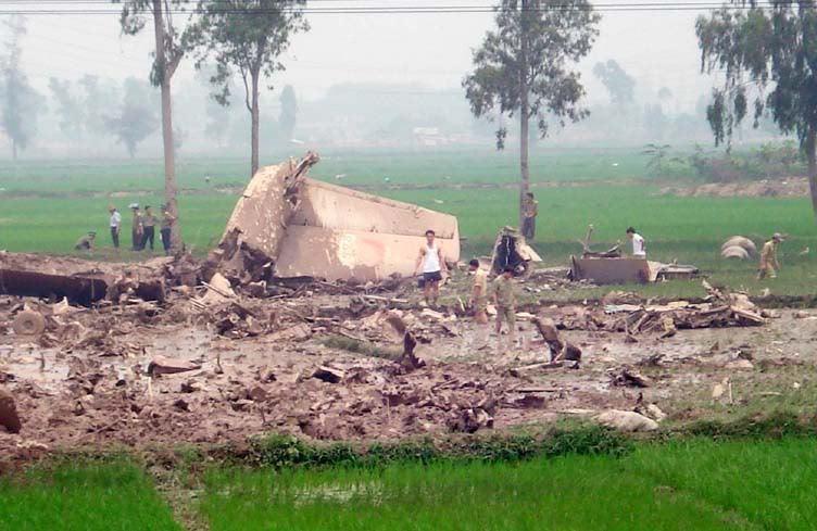 Nhìn lại những vụ rơi máy bay tại Việt Nam