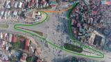 Nút giao thông được phân luồng kỳ cục nhất Hà Nội