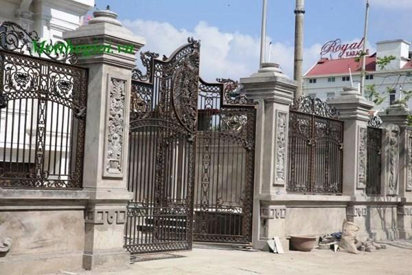 Đại gia Ninh Bình xây lâu đài theo kiểu Nhà quốc hội Mỹ