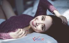 Hoa hậu Ngọc Anh vai trần gợi cảm