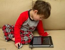 Cấm cha mẹ cho con dưới 2 tuổi dùng đồ điện tửpx