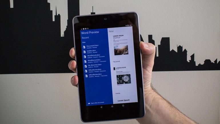 Microsoft tung loạt ứng dụng mới cho Android