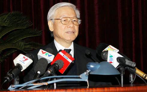 Tổng bí thư, Nguyễn Phú Trọng, Biển Đông, giàn khoan