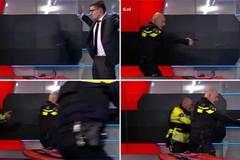 Tay súng xông vào đài truyền hình Hà Lan, đòi lên hình