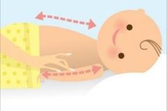 Các bước mát-xa giúp bé sơ sinh ăn ngoan, ngủ tốt