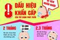 8 dấu hiệu của trẻ chậm phát triển mẹ phải biết