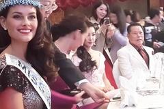 Tỷ phú Hoàng Kiều vui cùng hoa hậu sau thời 'mất tích'