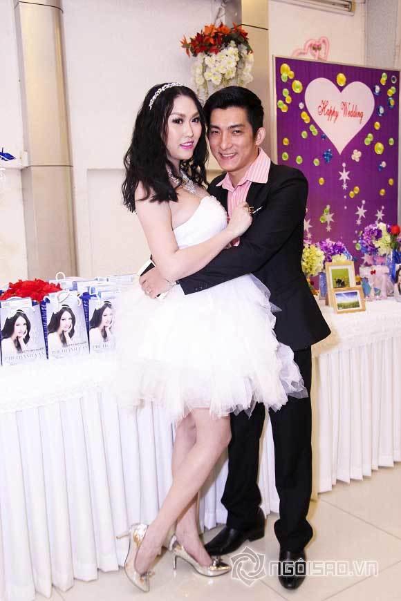 Phi Thanh Vân hóa 'cô dâu' xinh đẹp bên chồng sắp cưới