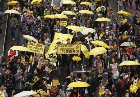 biểu tình, Hong Kong, Trung Quốc, dân chủ, bầu cử
