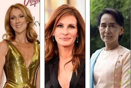 10 phụ nữ được ngưỡng mộ nhất thế giới