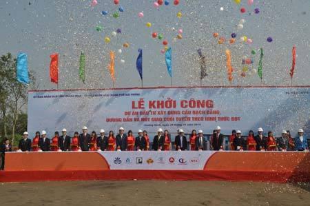 Quảng Ninh khởi công dự án cầu Bạch Đằng 7.600 tỷ