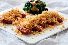 Gà xóc tỏi thơm giòn cho bữa tối ngon cơm