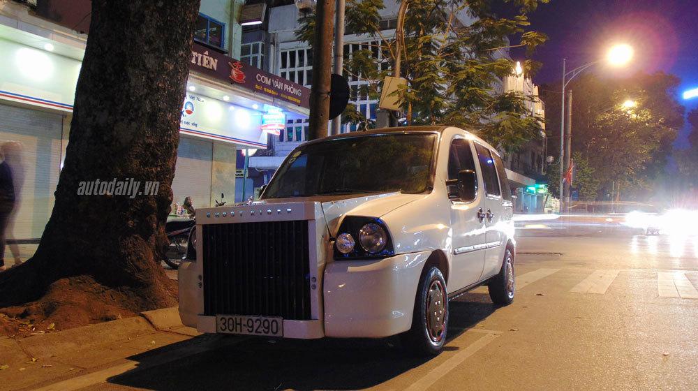 Người Hà Nội chế Rolls-Royce 'lai' cực độc