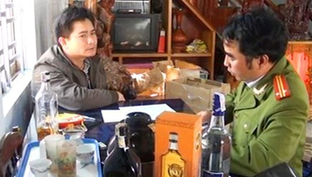 Lộ chiêu chế rượu ngoại rởm