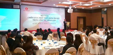 Khách sạn 5 sao quá thiếu quản lý cấp cao người Việt