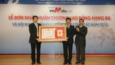 Báo điện tử VnMedia nhận huân chương Lao động hạng Ba