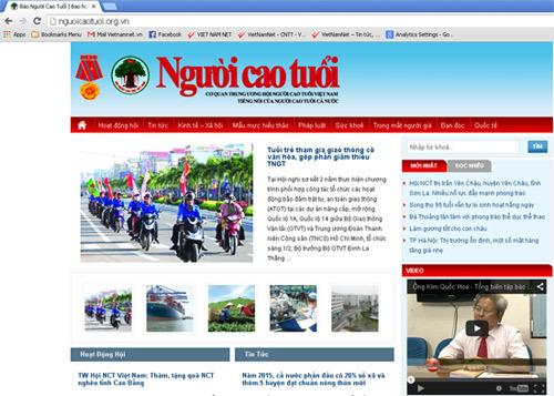 Bộ TT&TT, Người cao tuổi, Kim Quốc Hoa