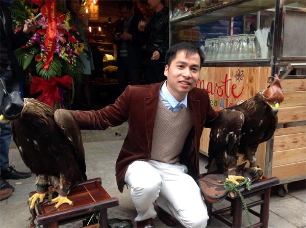 Đại bàng Mông Cổ giá 200 triệu 'khuấy động' Hà Nội