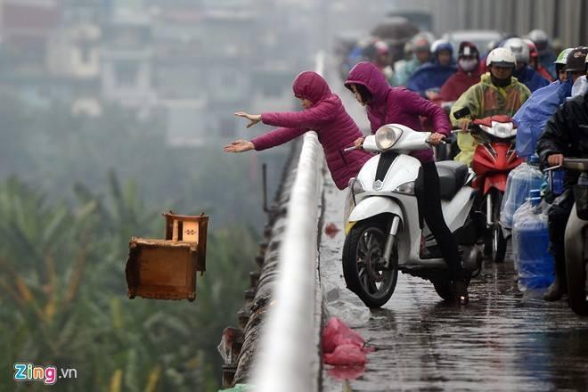 đường Táo Quân, thả cá chép, hình ảnh bất bình