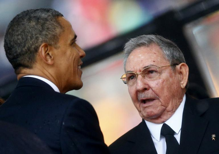 Cấm vận, Nga, Cuba, Ukraine, Mỹ, Castro, Obama