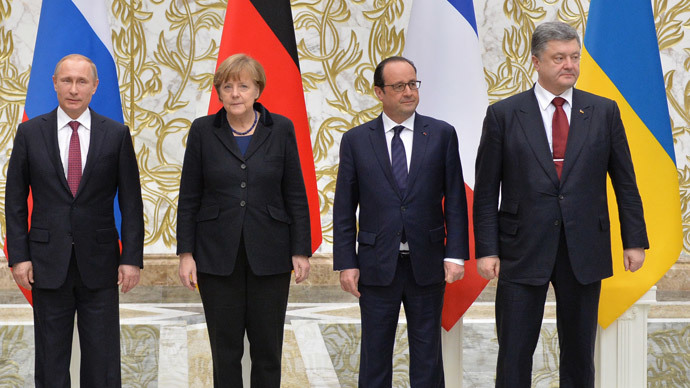 Ukraina, Petro Poroshenko, Vladimir Putin, Angela Merkel, Francois Hollande, ly khai, đông Ukraina, Minks