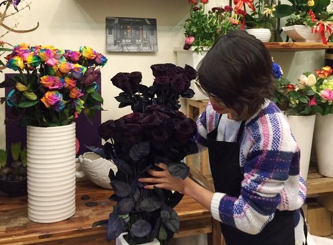 Hoa hồng đen 250.000 đồng/bông bung hàng dịp Valentine