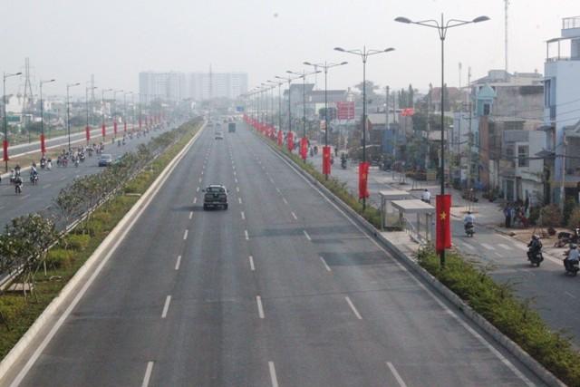 Thông xe toàn tuyến đường nội đô đẹp nhất Sài Gòn