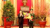 Thăng hàm Thượng tướng cho Phó Chủ tịch QH Huỳnh Ngọc Sơn