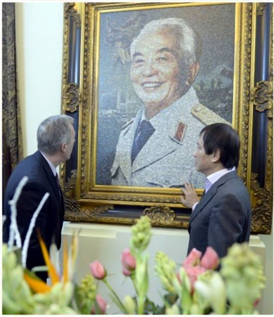 Đại sứ Mỹ, thăm gia đình, Đại tướng Võ Nguyên Giáp, Tết Ất Mùi