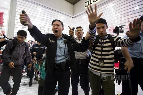Trung-Quốc, Hong-Kong, đại-lục, biểu-tình, khách-du-lịch, phản-đối
