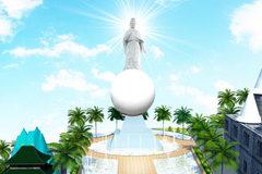 Chiêm bái Kim thân Đức Phật Địa Mẫu tại Suối Tiên