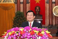 Thư của Chủ tịch nước chúc Tết Ất Mùi 2015