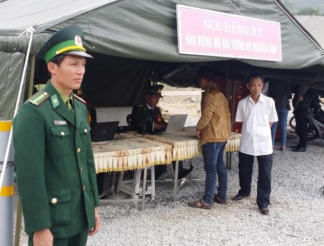 Đại tướng Võ Nguyễn Giáp, Quảng Bình, viếng mộ Đại tướng, Vùng Chùa- Đảo Yến