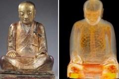 Phát hiện xác ướp bên trong tượng Phật 1000 tuổi