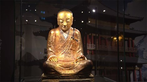 Khám phá di hài một Thiền Sư tịch diệt đã 1.000 năm bên trong pho tượng Phật