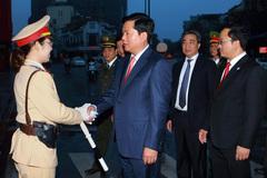 Bộ trưởng Thăng dự lễ ra quân bảo đảm trật tự ATGT