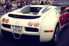 Thiếu gia Minh nhựa đắp chiếu siêu xe Bugatti Veyron triệu đô